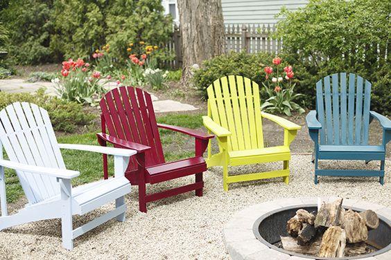 carpentry garden chairs
