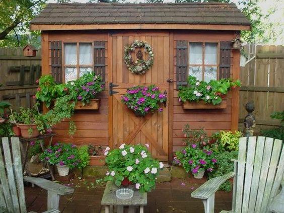 carpentry potting shed