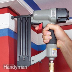 diy carpentry trim gun